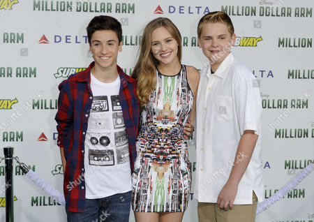 Teo Halm, Ella Wahlestedt and Reese Hartwig