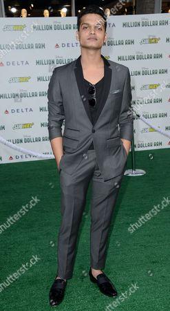 Editorial photo of 'Million Dollar Arm', film premiere, Los Angeles, America - 06 May 2014