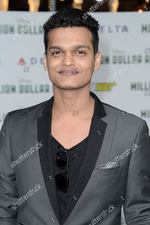 Editorial picture of 'Million Dollar Arm', film premiere, Los Angeles, America - 06 May 2014