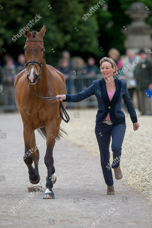 Mary King (GBR) & Imperial Cavalier - First Inspection - CCI4* - Mitsubishi Motors Badminton Horse Trials 2014 - Badminton, Gloucestershire, United Kingdom - 07 May 2014