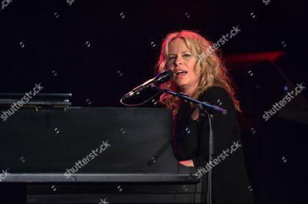 Editorial photo of Vonda Shepard in concert, Mannheim, Germany - 06 May 2014
