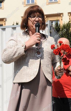 Stock Photo of Anna Grodzka