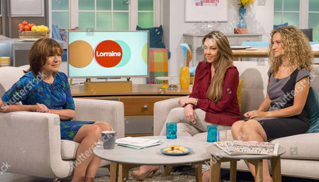 Lorraine Kelly with Michelle Heaton and Dr Ellie Cannon