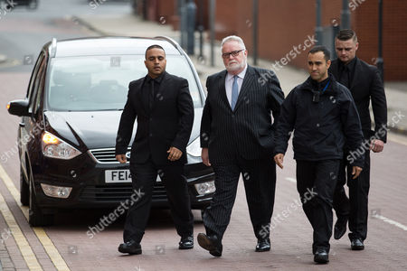 Paul Flowers arrives at Leeds Magistrates Court