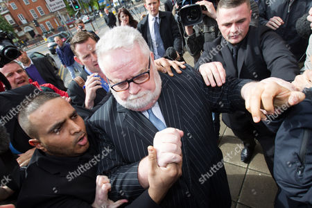 Stock Image of Paul Flowers leaves Leeds Magistrates Court