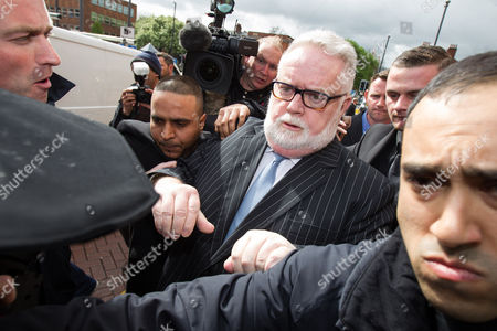 Paul Flowers leaves Leeds Magistrates Court