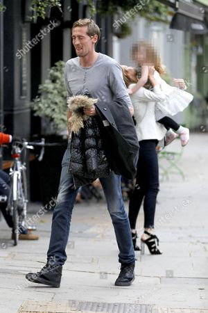 Peter Crouch, Abigail Clancy and Sophia Ruby Crouch