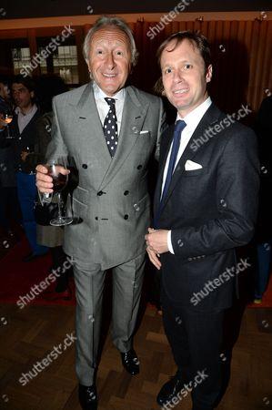 Harold Tillman and guest
