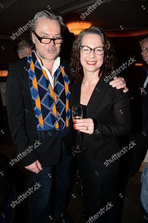 David Downton and Frances Corner