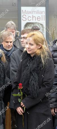 Editorial picture of Funeral of Maximilian Schell, Preitenegg, Austria - 08 Feb 2014