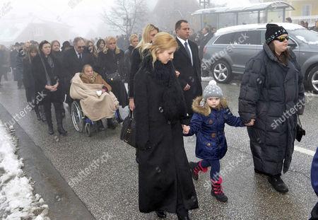 Editorial photo of Funeral of Maximilian Schell, Preitenegg, Austria - 08 Feb 2014
