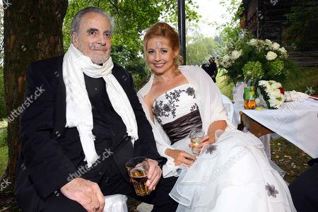 Maximilian Schell and Iva Mihanovic