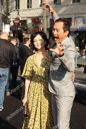 Ken Watanabe and Kaho Minami