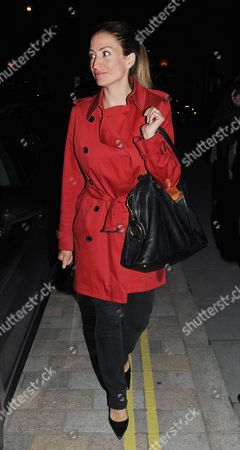 Editorial picture of Rebecca Loos at the Firehouse Club, London, Britain - 08 May 2014