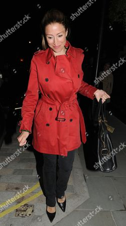 Editorial image of Rebecca Loos at the Firehouse Club, London, Britain - 08 May 2014