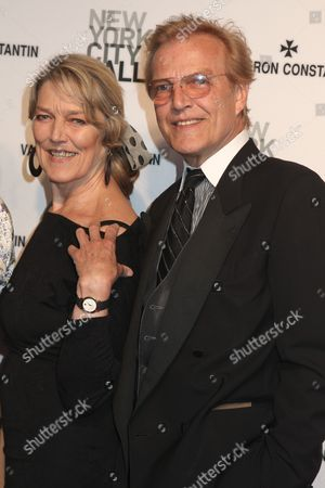 Peter Martins and sister