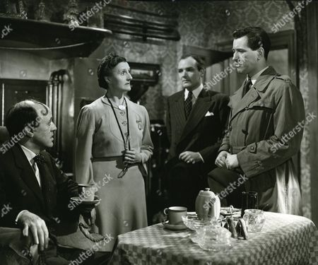 Alastair Sim, Joyce Carey, Cyril Chamberlain and Andrew Crawford