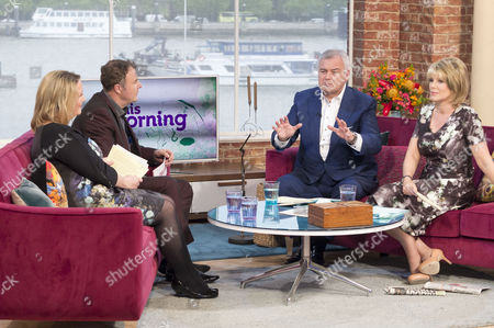 Claire Muldoon and Paul Ross with Eamonn Holmes and Ruth Langsford