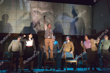 Editorial picture of '1984' by George Orwell at the Playhouse Theatre, London, Britain - 08 May 2014