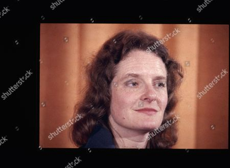 Stock Photo of Christine Hodgson, a Political Candidate.
