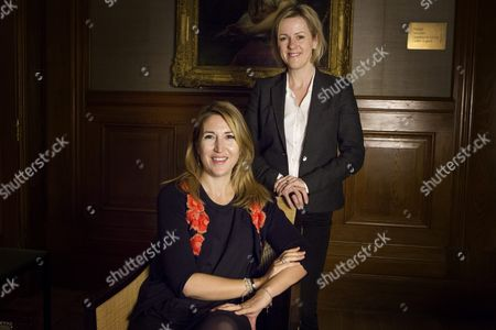 Stock Image of Chick Lit writers Jojo Moyes and Lisa Jewell