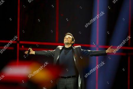 Stock Image of Aram MP3 representing Armenia performs 'Not Alone'