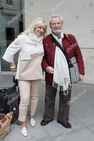 Sir James Galway and his wife Lady Jeanne Galway