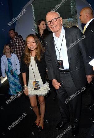 Grace Helen Murdoch and Rupert Murdoch