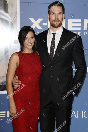 Stock Photo of Daniel Cudmore and Stephanie Cudmore