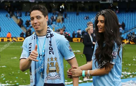 Editorial photo of Barclays Premier League 2013/14, Manchester City v West Ham United, Etihad Stadium (Manchester, GB) - 11 May 2014