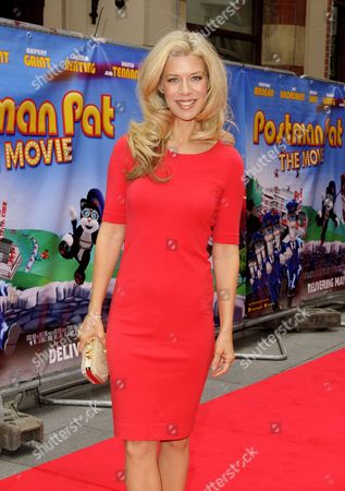 Editorial image of 'Postman Pat The Movie' film premiere in London, Britain - 11 May 2014