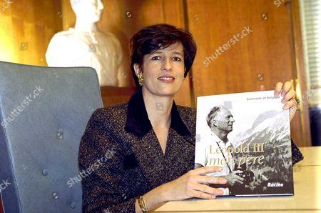 Editorial image of PRINCESS MARIE ESMERALDA, BELGIUM - 19 DEC 2001