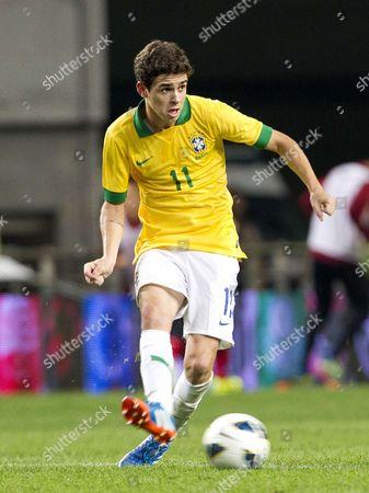 Stock Image of Oscar dos Santos Emboaba Junior - Oscar