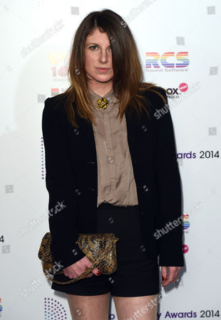 Editorial photo of The Radio Academy Awards, Grosvenor House Hotel, London, Britain - 12 May 2014
