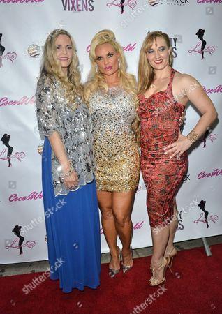 Tina Austin, Nicole Coco Austin and Kristy Williams