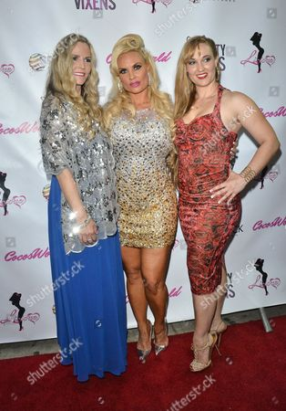Editorial image of Coco and The Vanity Vixens Launch Party, New York, America - 12 May 2014