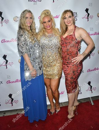 Stock Image of Tina Austin, Nicole Coco Austin and Kristy Williams