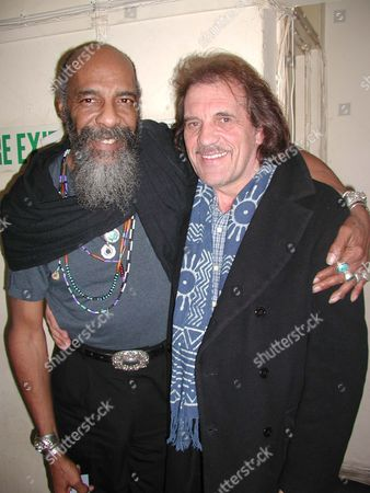 RICHIE HAVENS AND JIM CAPALDI AT THE JAZZ CAFE FOR RICHIE HAVENS' CONCERT