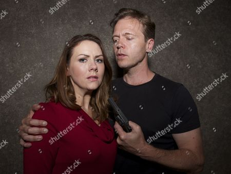 Editorial photo of 'Stone Cold Murder' play launch, photocall at the Mill Theatre, Sonning, Berkshire, Britain - 12 May 2014