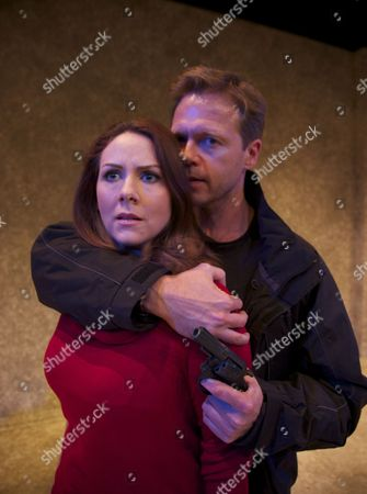 Editorial image of 'Stone Cold Murder' play launch, photocall at the Mill Theatre, Sonning, Berkshire, Britain - 12 May 2014