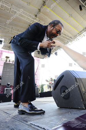 Editorial photo of Francisco Cespedes in concert in Queretaro, Mexico - 11 May 2014