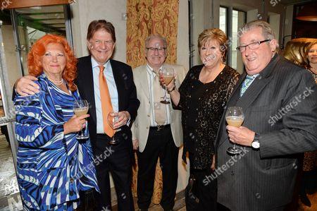 Lady Judith McAlpine, Sir John Madejski and Sir William McAlpine
