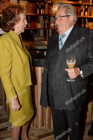 Stock Image of Cilla Black and Sir William McAlpine