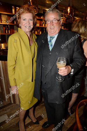 Stock Photo of Cilla Black and Sir William McAlpine