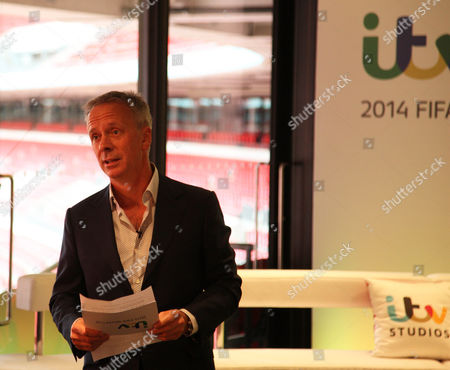 Director of ITV Peter Fincham speaks at the ITV World Cup Media launch