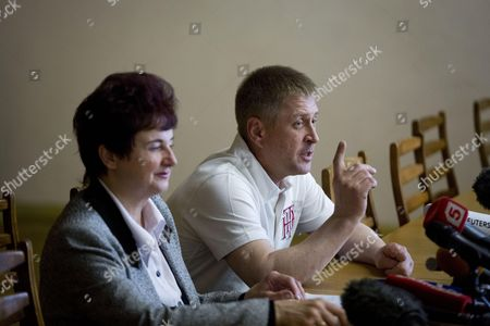 Stock Picture of Self-proclaimed Mayor of Sloviansk Vyacheslav Ponomarev