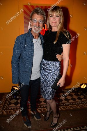 Eddie Jordan and Deborah Leng
