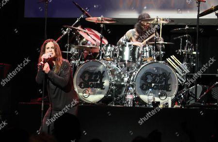 Ozzy Osbourne and Tommy Clufetos