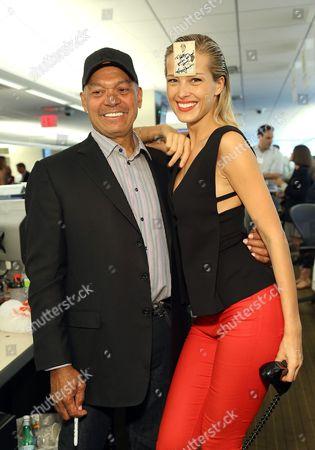 Reginald Brown and Petra Nemcova