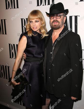 Dave Stewart and wife Anoushka Fisz